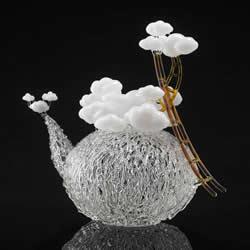 Eunsuh Choi优雅玻璃雕塑 宛如冬日霜冻的枝枒