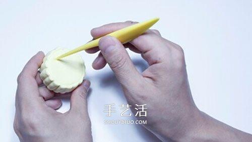 超轻粘土月饼的做法 中秋节粘土月饼手工制作 -  www.shouyihuo.com