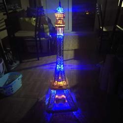 竹签手工制作埃菲尔铁塔模型的详细图解
