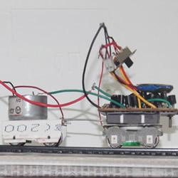 自制遥控火车的教程 遥控火车头模型DIY制作