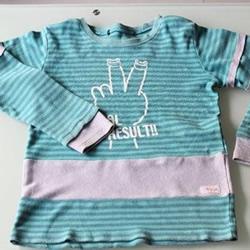 宝宝旧T恤的改造方法 让衣服赶上孩子的成长