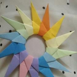 折飞镖的方法步骤图片 手工纸飞镖怎么折图解