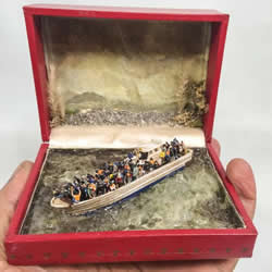 巧手打造模型舞台 迷你珠宝盒中的人生百态!