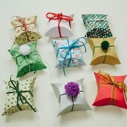 喜糖盒展开图的画法 折纸礼品盒的详细图