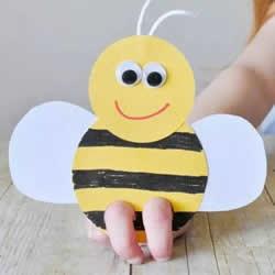 卡纸做手偶玩具的方法 幼儿卡纸手偶简单制作