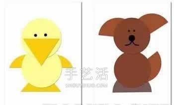 简单又漂亮!卡纸手工制作小动物图片大全 -  www.shouyihuo.com