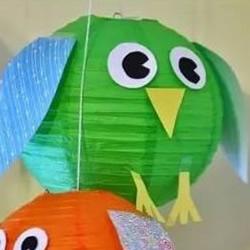简易动物灯笼制作方法 儿童手工小动物灯