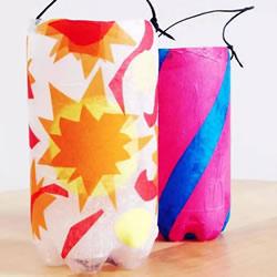 塑料瓶做灯笼步骤图 简单饮料瓶灯笼制作方法