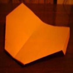 简单超久滑翔机折法 儿童折纸滑翔机图解