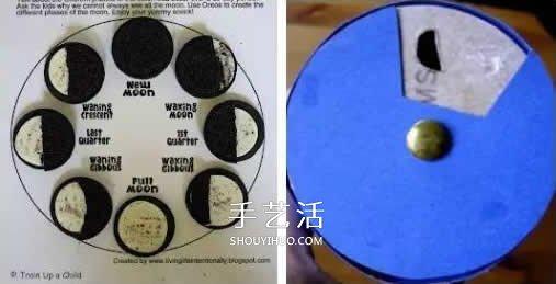 奇思妙想中秋月 让孩子用奥利奥饼干做月亮 -  www.shouyihuo.com