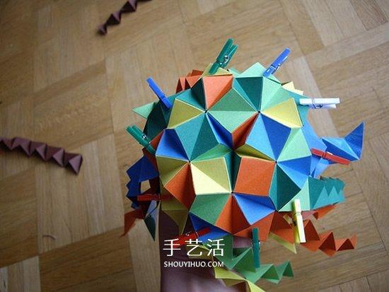 手工折纸宝剑步骤图片