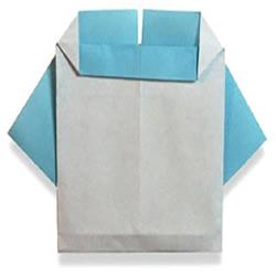简单又可爱童装折法 手工折纸儿童衣服图