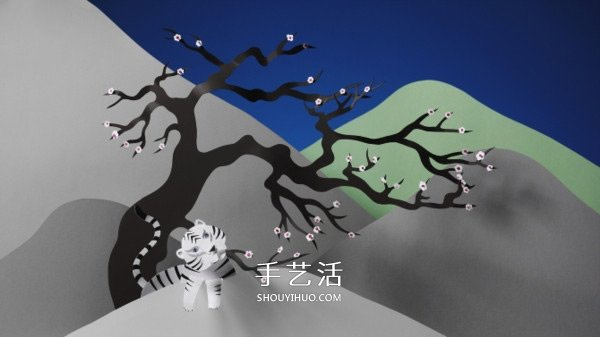 清新剪纸雕塑作品 带你进入有趣的纸之世界 -  www.shouyihuo.com