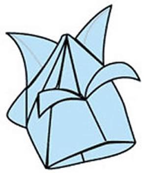 手工折纸郁金香花教程 怎么简单折郁金香步骤 -  www.shouyihuo.com