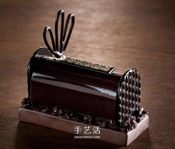 精致宛如高级法式甜点 陶瓷玻璃工艺品模型图片 -  www.shouyihuo.com