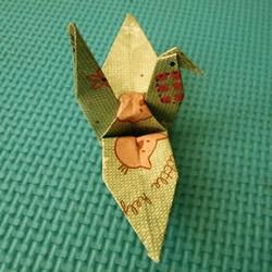 千纸鹤怎么折的教程 手工折纸千纸鹤步骤图