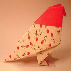 简单手工折纸鸽子图解 幼儿学折鸽子的教程