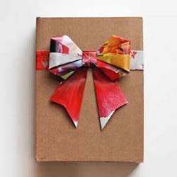 手工折纸蝴蝶结步骤图 简易蝴蝶结折叠方法