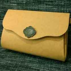 复古风牛皮纸钱包的做法 长款钱包用牛皮纸做