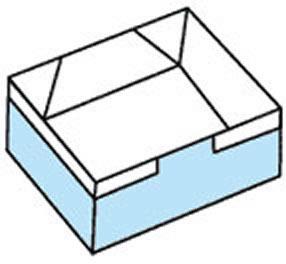 简易方形纸盒子的折叠方法 可以当做垃圾盒用 -  www.shouyihuo.com