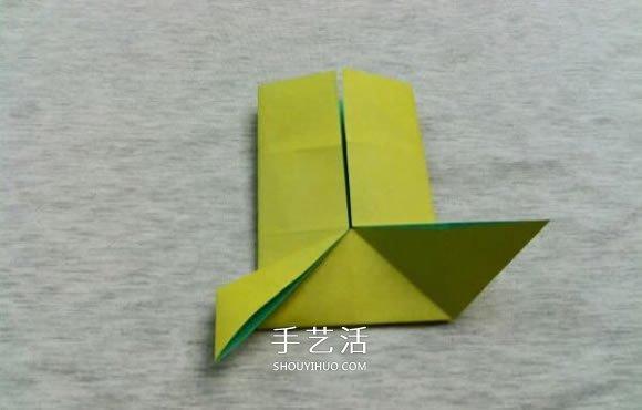 动物身上的花纹_立体青蛙折纸步骤图 复杂折青蛙的方法和图片_手艺活网
