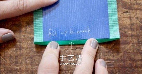 油布手工制作手机套 自制简约手机套的做法 -  www.shouyihuo.com