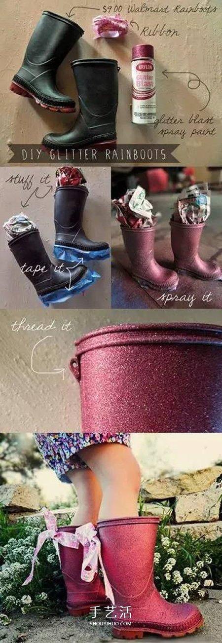 妈妈惊呼不可能!宝宝旧鞋子的翻新改造大全