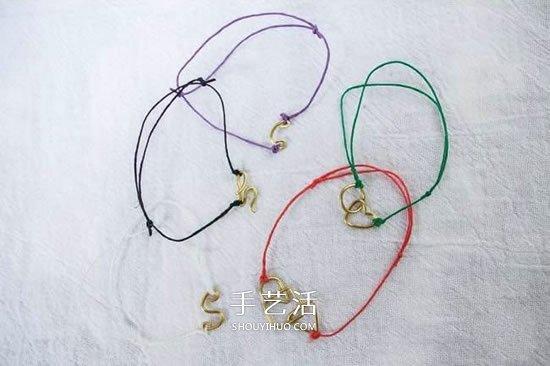 铜线手工制作小手链 小清新铜线手链的做法 -  www.shouyihuo.com