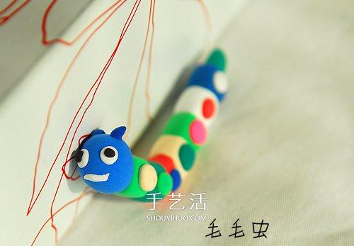 粘土作品简单可爱图片 带给你最最纯真的童趣 -  www.shouyihuo.com