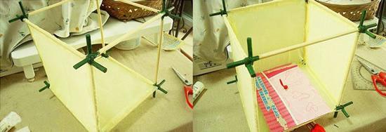 中國風燈籠的手工製作 兒童手工新年燈籠製作
