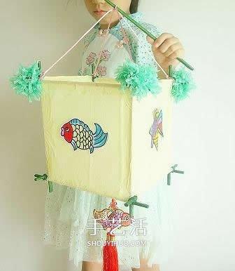 手工花灯制作方法_中国风灯笼的手工制作 儿童手工新年灯笼制作_手艺活网