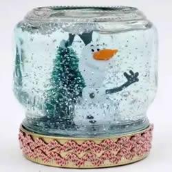 自己动手做圣诞节礼物 玻璃罐制作漂亮装饰品