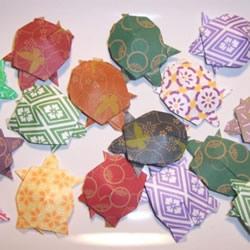 小乌龟的折纸动画教程 手工折乌龟的简单