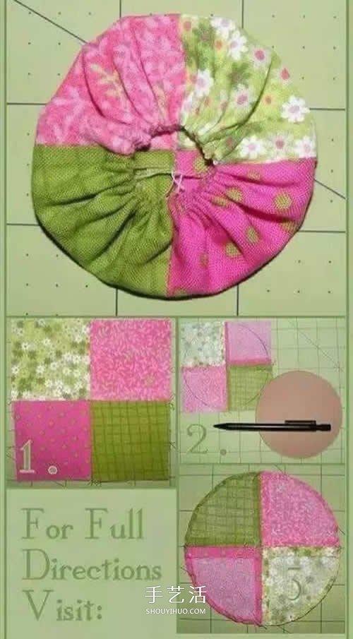 碎布头的小制作图片 巧手妈妈怎么能不学学 -  www.shouyihuo.com