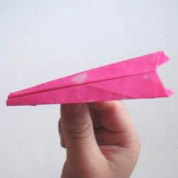 最简单纸飞机怎么折 幼儿手工小飞机的折法