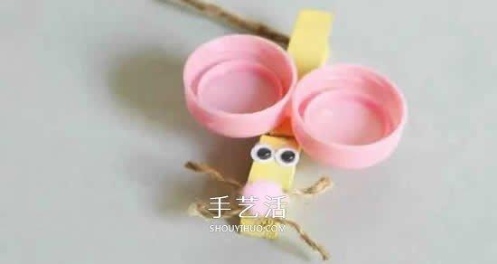 幼儿园手工制圆圈做老鼠