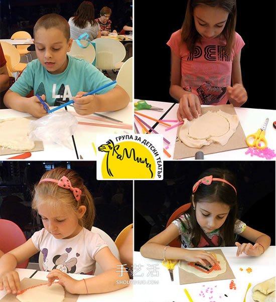 幼儿吸管画作品图片 简单又漂亮吸管拼贴画 -  www.shouyihuo.com