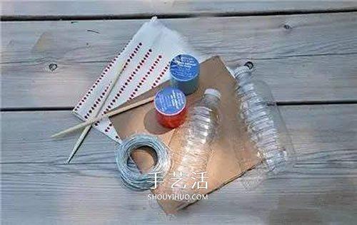 礦泉水瓶做帆船教程 自製塑料瓶小船製作方法