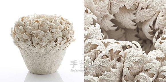 感受手作的精巧 以花草形象堆迭出立体瓷器 -  www.shouyihuo.com