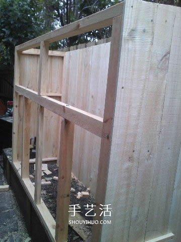简易鸡舍的建造方法 自制鸡舍的教程图解 -  www.shouyihuo.com