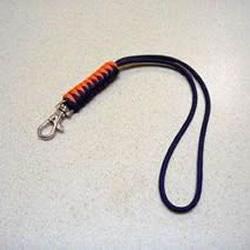 手工刀坠绳编法图解 伞绳刀坠的编法教程