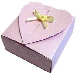 情人��Y品盒的折法 ��坌陌��b盒折��D解
