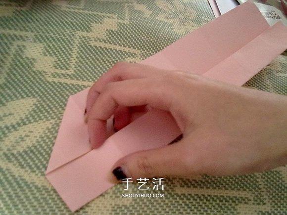玫瑰纸盒的折法图解 情人节漂亮礼品盒的折法 -  www.shouyihuo.com