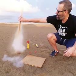 创意水火箭的做法图解 让可乐瓶一飞冲天!