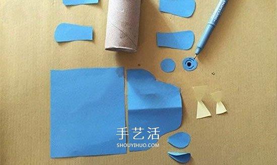 幼儿园手工制作犀牛 卷纸筒做立体犀牛方法 -  www.shouyihuo.com