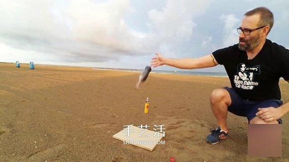 創意水火箭的做法圖解 讓可樂瓶一飛衝天!