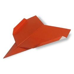 幼儿折纸战斗机的教程 简易纸飞机的折叠方法