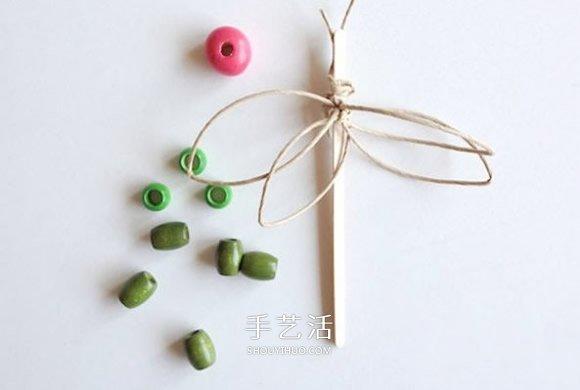 一次性勺子制作小动物 简单勺子创意手工图片 -  www.shouyihuo.com