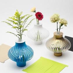 卡纸做花瓶套的图片 自制纸花瓶套的方法