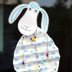幼儿手工制作小羊羔 用纸做小羊的方法图解